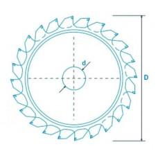 Алмазный диск Manchini с усиленным зубом