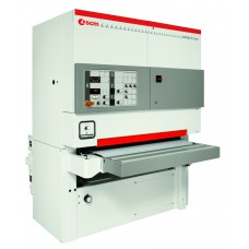 Автоматический калибровально-шлифовальный станок с двумя рабочими узлами Sandya 9S EVO
